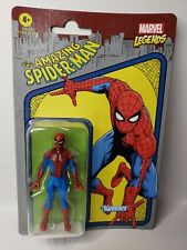 MARVEL LEGENDS 2021 RETRO HASBRO KENNER THE AMAZING SPIDER-MAN 3.75 IN.
