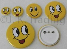 100 of 44mm Pin-backed Badge Button Supplies for Button Maker Badge Maker
