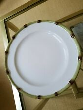 Williams sonoma Bamboo dinner plates, new , 4