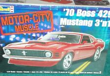REVELL 1970 FORD MUSTANG BOSS 429 3 in 1 PLASTIC MODEL KIT 1/25 SKILL LEVEL 2