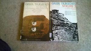 2 x paperback books - 10 Greek tragedy plays