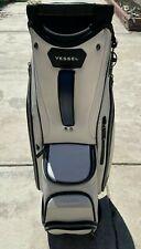 Vessel Lux  White/ Navy Cart Bag