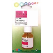 Flacon 27ml parfum liquide pour bougie et savon - Caramel beurre salé