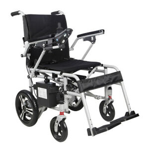 NEW MobilityPlus+ Featherlite Electric Wheelchair | 18kg, 4mph, Easy-Folding