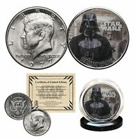 DARTH VADER - STAR WARS Officially Licensed 1977 JFK Half Dollar U.S. Coin