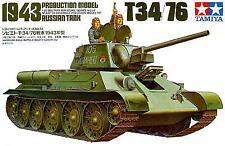 Tanque de Tamiya 1/35 T34/76 ruso 1943 # 35059