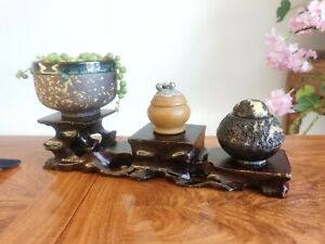 display wood stand(Length, width and height:28*6.6*6.3cm)