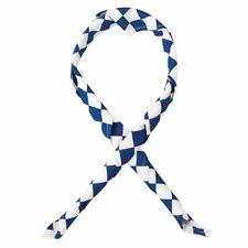 More details for whites chefs clothing unisex neckerchief bandana white blue over size