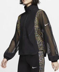Womens Nike Icon Clash Running Jacket Coat Size Small