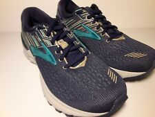 Woman's Sneakers & Athletic Shoes Brooks Adrenaline GTS 19 Navy Aqua Tan us10b