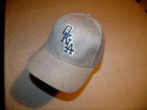 Oklahoma City Dodgers OKLA Gray Hat MiLB Adult Adjustable NEW