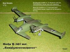 Gotha P.50/I mot. Kampfzonentransporter 1/72 Bird Models Resinbausatz/resin kit