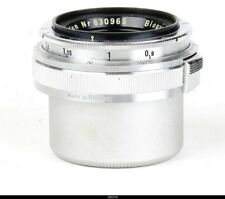 Lens Zeiss Opton Biogon 2.8/35mm Red T  for  Contax IIa IIIa