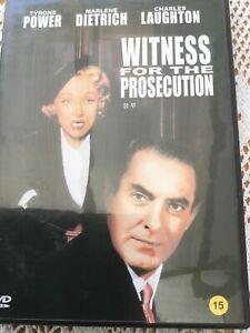 Witness for the Prosecution (1957) [DVD] [2012] Rare Korean Import