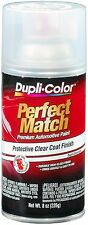 Duplicolor BCL0125 Perfect Match Clear Top Coat  8 oz. Aerosol Spray Paint