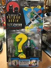 1997 The Adventures of Batman & Robin: DuoForce The Riddler Roto Chopper Kenner