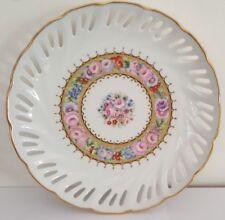 St.Martial Limoges Floral Porcelain Plate