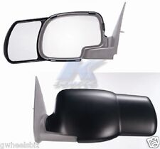 2000-2006 GMC SIERRA / YUKON  CLIP SNAP-ON TOWING SIDE MIRROR EXTENSION (PAIR)