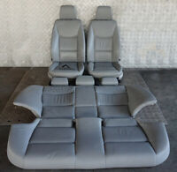 BMW 3 Serie E90 Riscaldato Grigio Pelle Sedili Interni con Airbag E Porta Carte