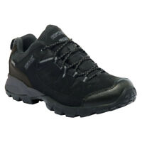 Regatta Mens Shoe Walking Holcombe Low Outdoor Trainer Waterproof Hiking Black