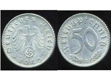 WW2  ALLEMAGNE 50 reichspfennig  1943 G