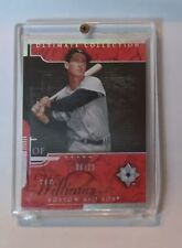 2005 Ultimate Collection #132 Ted Williams serial numbered # 06/25  mint