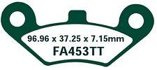 EBC GARNITURES DE FREIN fa453tt ESSIEU AVANT LINHAI boueux 300 4x4 (ATV) 07-09