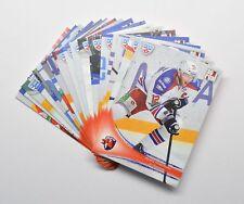 2013-14 KHL Lev Prague Full 18-Card Base Set