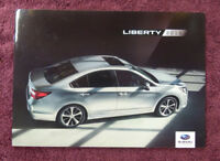 1994 SUBARU LIBERTY Australian 28p Prestige Brochure LEGACY FWD /& 4WD