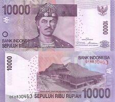 Indonesia 10000 Rupiah (2010) - Rumah Limas Building/p150a UNC
