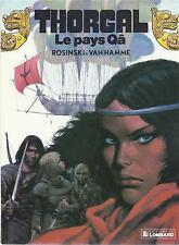 BD  Thorgal  - N°10 - Le pays Qâ  -  E.O .1986   BE - Rosinski