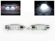No Error Canbus LED License Plate Bulb for Mercedes 6418 6411 C E S CLK M Class