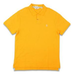 Penguin Mens Classic Polo Orange L New