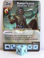 D&D Dice Masters - #094 Human Fighter Greater Lords' Alliance - Faerun under Sie
