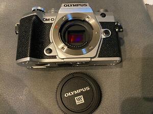 Olympus OM-D E-M5 Mark III 20.4MP - Silver