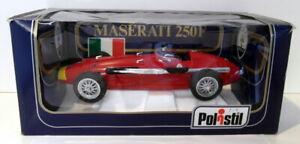 Polistil 1/16 Scale Diecast - TG20 Maserati 250F F1 Red