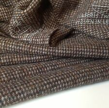 "Hand Woven Harris Tweed Heavy Wool High Class Fabric 74cm 29"" (1c) Jacket Bag"
