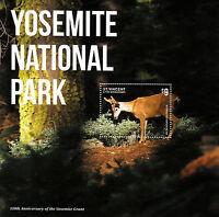 St Vincent Grenadines 2014 MNH Yosemite National Park II 1v S/S Grant Mule Dear