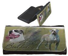 Frauen Geldbörse Brieftasche American Bulldog 1 Bulldogge Portemonnaie