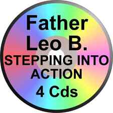 FATHER LEO BOOTH 4 CD STEPPING INTO ACTION ALCOHOLICS ANONYMOUS ALANON NARCOTICS