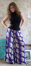 Floral Palazzo Elephant Leg Dress Pants By My Story Size M New