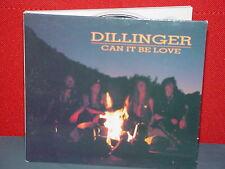DILLINGER - CAN IT BE LOVE  - 1991 - DJ/CD SINGLE,RARE, OOP, HAIR METAL