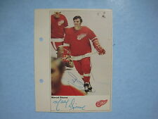 1971/72 TORONTO SUN NHL ACTION HOCKEY PHOTO MARCEL DIONNE ROOOKIE AUTOGRAPH AUTO