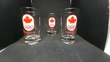 Vintage Olympics 1976 Team Canada Cocktail Glasse - 1976 Summer Games (Montreal)