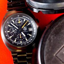 TAG Heuer Pilot Chronograph Retro 510.501 PVD Black Dial
