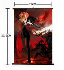 "Hot Japan Anime Hellsing Alucard Cosplay Home Decor Poster Wall Scroll 8""x12"" 01"