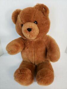 "Dakin Honey Jo Vintage  1986 Brown Teddy Bear 20"" Plush Fun Farm Toy"