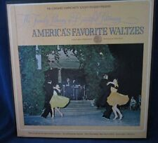 The Family Library of Beautiful Listening America's Favorite Waltzes vinyl