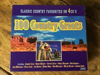 '100 Country Greats' CD Box Set. Used.