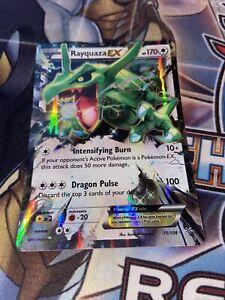 Pokemon Rayquaza EX - Ultra Rare - Roaring Skies 75/108 (NM)